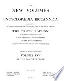 The new volumes of the Encyclp  edia britannica