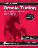 Oracle Tuning  The Definitive Reference