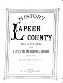 History of Lapeer County  Michigan