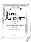 History Of Lapeer County Michigan