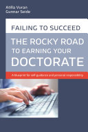 Rocky road to earning a doctorate Book