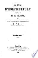 Journal D'horticulture Pratique de la Belgique