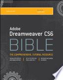Adobe Dreamweaver CS6 Bible