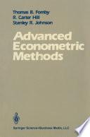 Advanced Econometric Methods
