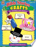 Bible Stories   Crafts for Holidays and Seasons