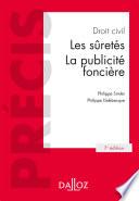 Droit Civil Les Suret S La Publicit Fonci Re