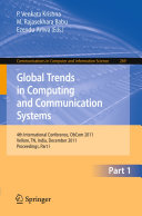 Global Trends in Computing and Communication Systems