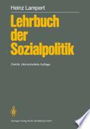 Lehrbuch der Sozialpolitik