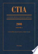 CTIA  Consolidated Treaties and International Agreements 2008 Vol 4