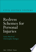 Redress Schemes for Personal Injuries