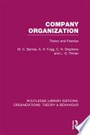 Company Organization  RLE  Organizations