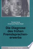 Die Diagnose des frühen Fremdsprachenerwerbs
