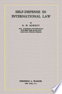 Self defence in International Law