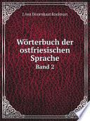 W rterbuch der ostfriesischen Sprache