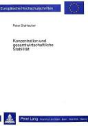 Konzentration und gesamtwirtschaftliche Stabilität