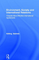 Environment, Society and International Relations