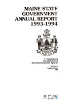 Maine State Government Annual Report