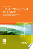 IT Risiko Management mit System