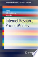 Internet Resource Pricing Models