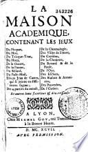 La Maison academique