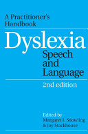 download ebook dyslexia, speech and language pdf epub