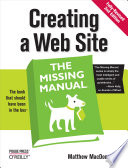 Creating a Web Site  The Missing Manual