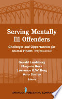 Serving Mentally Ill Offenders