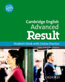 Cambridge English  Advanced Result Students Book and Online Skills Practice Pack