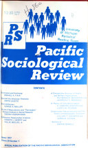 Pacific Sociological Review