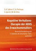 Kognitive Verhaltenstherapie der ADHS des Erwachsenenalters
