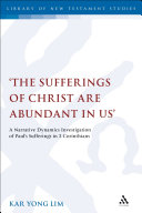 download ebook \'the sufferings of christ are abundant in us\' pdf epub