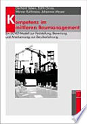 Kompetenz im mittleren Baumanagement. Ein ECVET-Modell zur Feststellung, Bewertung und Anerkennung von Berufserfahrung