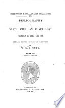 Bibliography of North American Conchology Previous to the Year 1860: Foreign authors