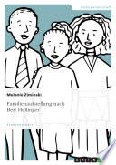 Familienaufstellung nach Bert Hellinger