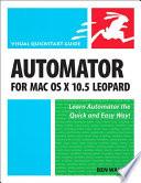 Automator for Mac OS X 10.5 Leopard