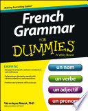 French Grammar For Dummies
