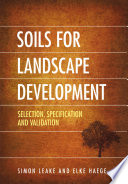 Soils for Landscape Development