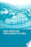 HRM  Work and Employment in China