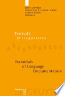 Essentials of Language Documentation Linguistics Which Is Concerned With The Methods