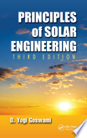 Principles of Solar Engineering, Third Edition