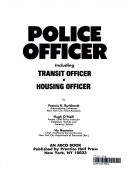 Police officer  including transit officer  housing officer