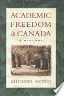 Academic Freedom in Canada