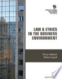 Law and Ethics in the Business Environment