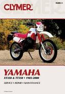 Yamaha Xt350 And Tt350 1985 2000