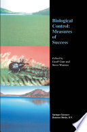 Biological Control: Measures of Success Book Analyses Why The Majority