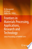 Frontiers in Materials Processing  Applications  Research and Technology