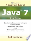 Java 7 A Beginner S Tutorial Third Edition