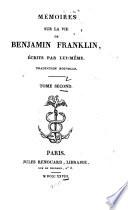 M  moires sur la vie de Benjamin Franklin