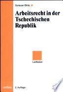 Arbeitsrecht in der Tschechischen Republik