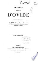 Oeuvres complètes d'Ovide: T. 4, T. 5, T. 6, T. 7, T. 8